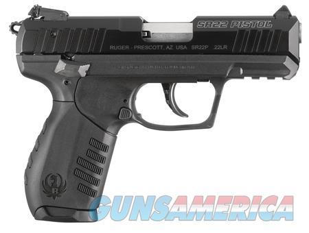 """Ruger SR22PB 22 LR 3600 NIB 3"""" Barrel 22 LR 10 Rnd  Guns > Pistols > Ruger Semi-Auto Pistols > SR Family"""