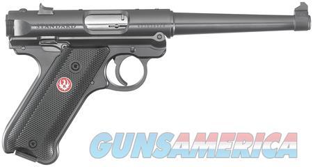 "Ruger Mark IV 22 Lr 6"" Tapered BBL 40105 NIB Black  Guns > Pistols > Ruger Semi-Auto Pistols > Mark I/II/III/IV Family"