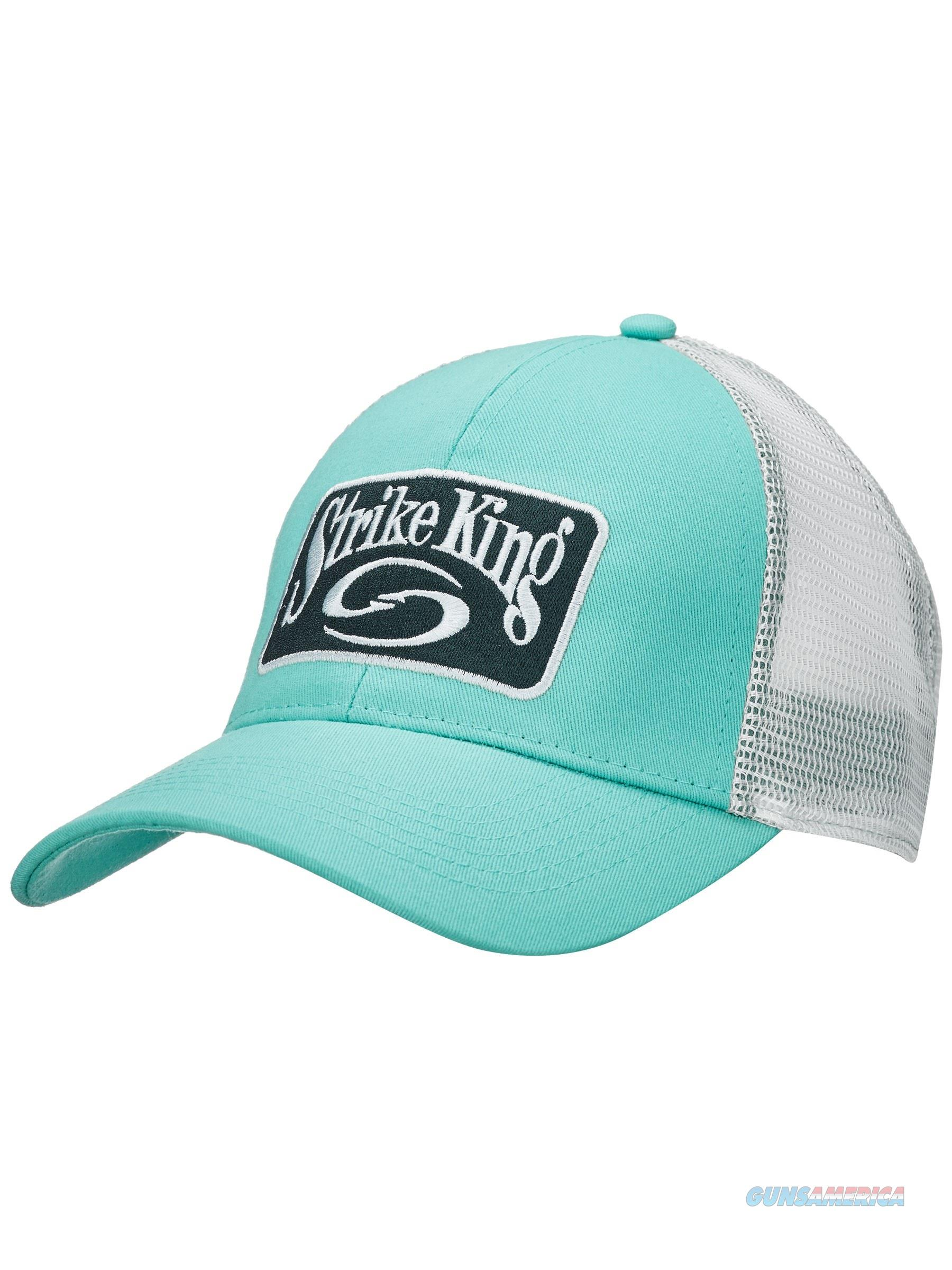 Strike King Trucker Cap Celadon White  Non-Guns > Hunting Clothing and Equipment > Clothing > Hats
