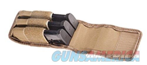 Tuff Double Stack 3 Mag Pouch Brown  Non-Guns > Holsters and Gunleather > Magazine Holders