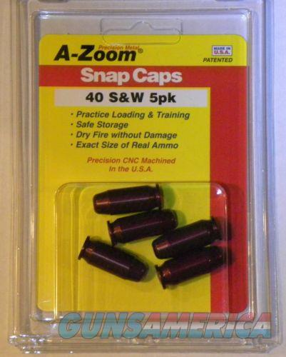 A-Zoom 40 S&W Precision Snap Caps 5 Pack 15114  Non-Guns > Miscellaneous