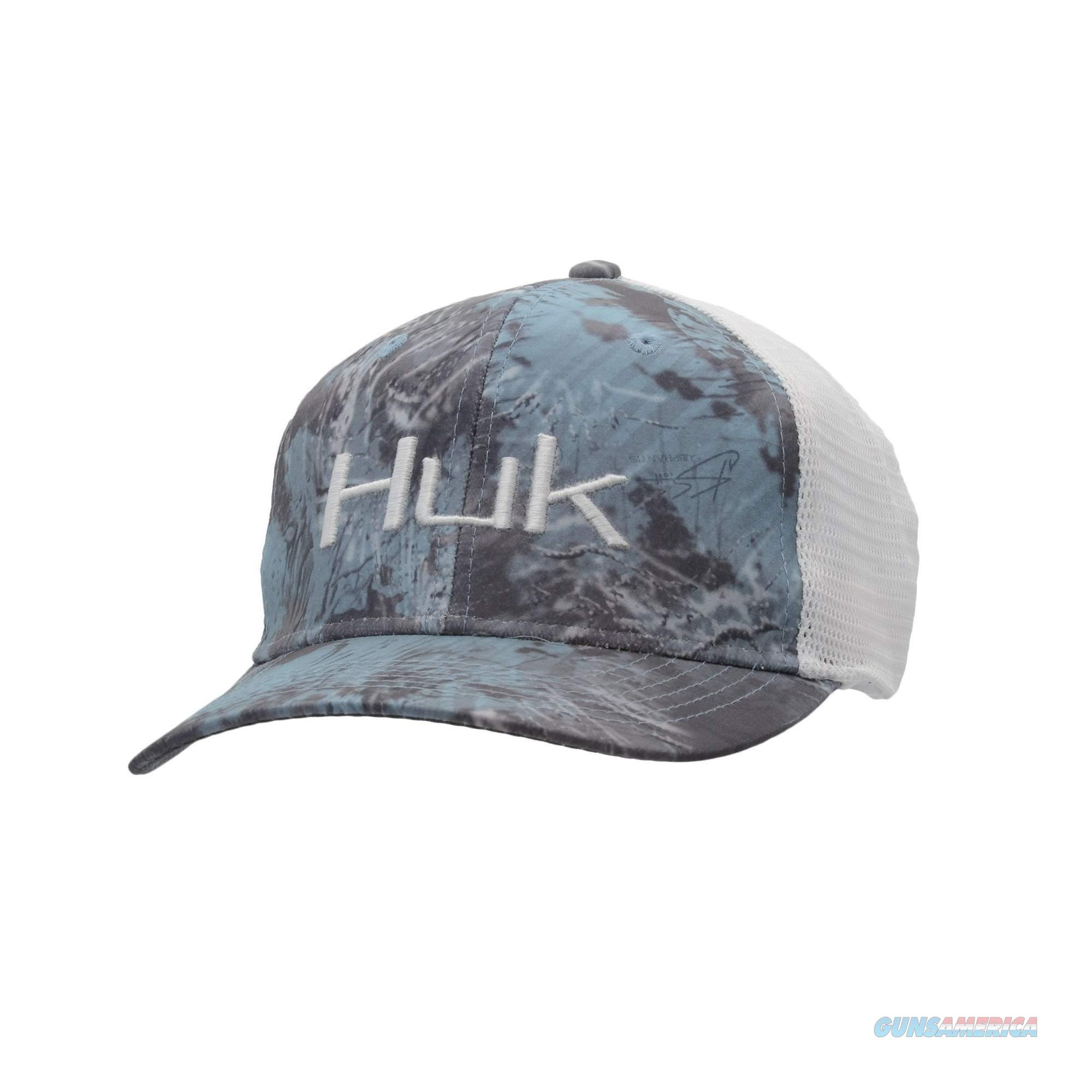 Huk Camo Trucker Stretch Hat Glacier  Non-Guns > Hunting Clothing and Equipment > Clothing > Shirts