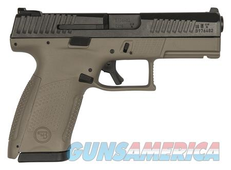 "CZ P-10 P10 Compact 9 MM 91521 NIB FDE 4"" BBL 9MM  Guns > Pistols > CZ Pistols"