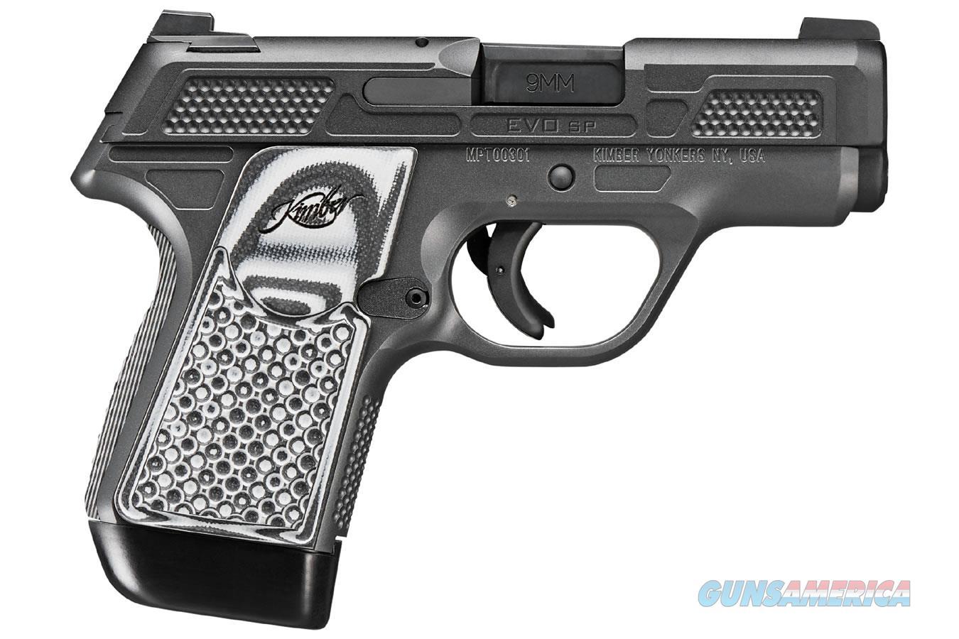 "Kimber EVO SP Custom 9 MM 3900013 NIB 3.16""BBL 9MM  Guns > Pistols > Kimber of America Pistols > 1911"