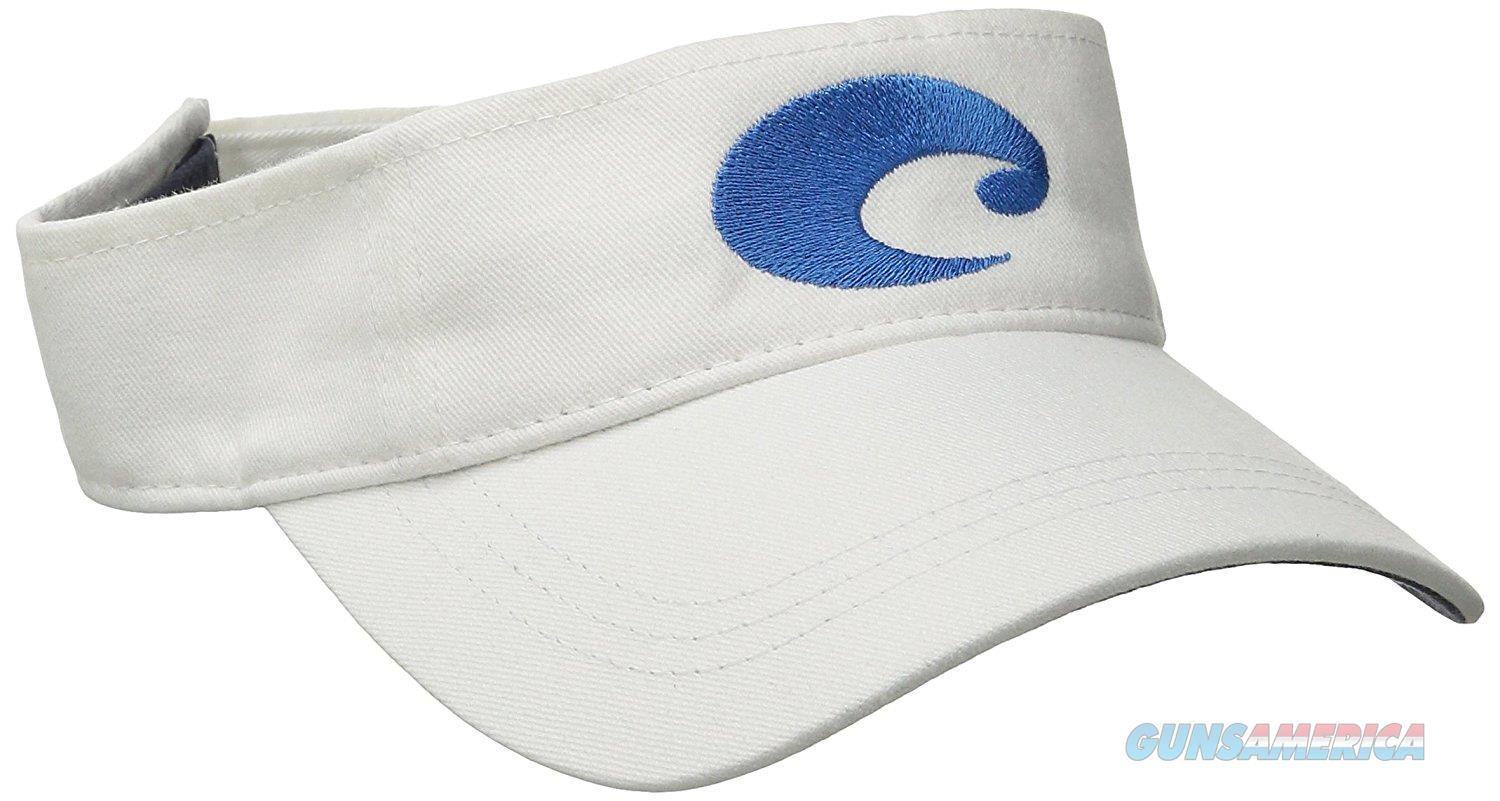 Costa Cotton Visor White One Size  Non-Guns > Hunting Clothing and Equipment > Clothing > Hats