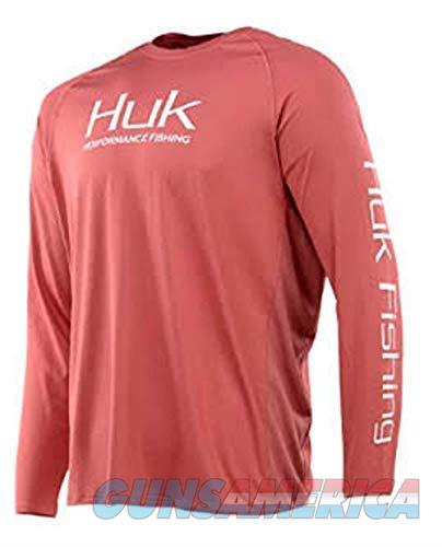 Huk Pursuit Vented Long Sleeve Dusty Cedar Large  Non-Guns > Hunting Clothing and Equipment > Clothing > Shirts
