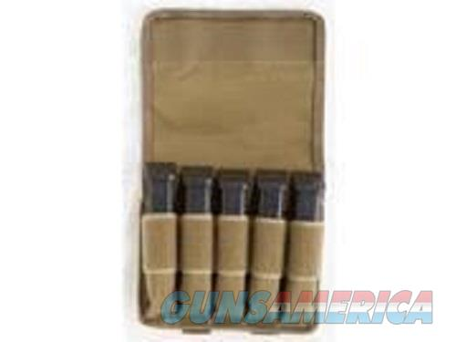 Tuff Double Stack 5 Mag Pouch Coyote  Non-Guns > Holsters and Gunleather > Magazine Holders