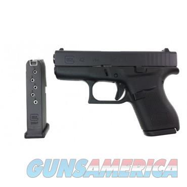 "Glock 42 NIB 380ACP UI4250201 3"" Barrel 6 Rnd  Guns > Pistols > Glock Pistols > 42"