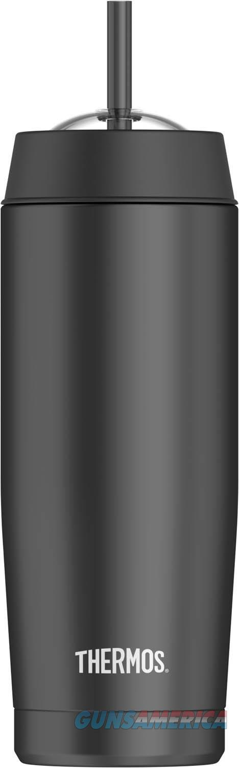 Thermos 16 oz Cold Cup With Straw Black  Non-Guns > Miscellaneous