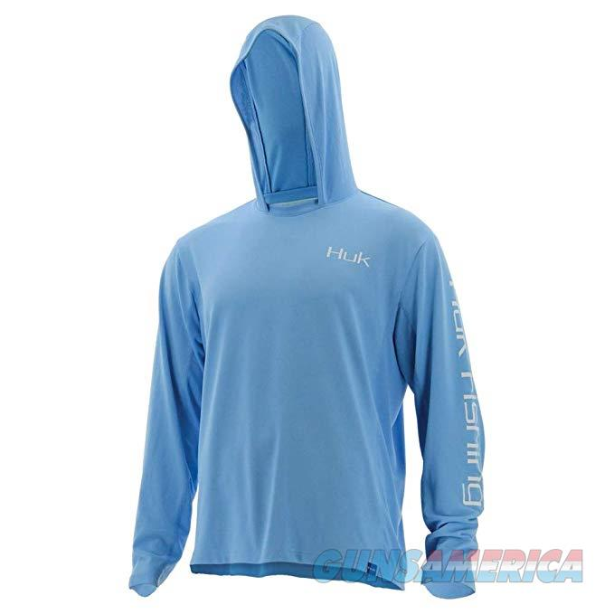 Huk Icon Hoodie Carolina Blue Large  Non-Guns > Hunting Clothing and Equipment > Clothing > Shirts