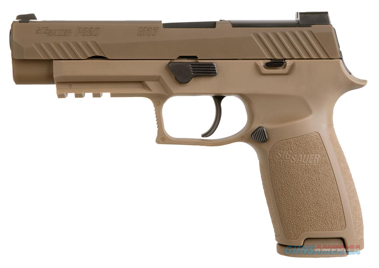 "Sig Sauer P320 Coyote 9 MM 4.7""BBL 320F-9-M17 NIB  Guns > Pistols > Sig - Sauer/Sigarms Pistols > P320"
