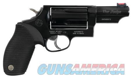 "Taurus Judge 45 LC 410 Ga 2-441031T 3"" BBL NIB BLK  Guns > Pistols > Taurus Pistols > Revolvers"
