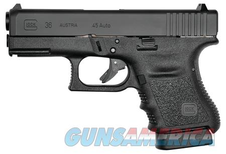 "Glock 36 NIB PI3650201FGR 45acp 4"" Barrel 45 Acp  Guns > Pistols > Glock Pistols > 29/30/36"