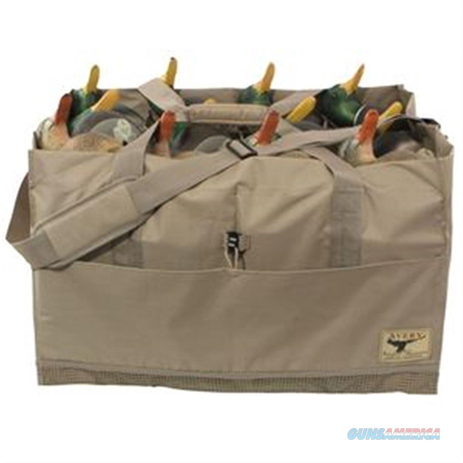 Avery 12 Slot Decoy Bag Field Khaki  Non-Guns > Hunting Clothing and Equipment > Ammo Pouches/Holders/Shell Bags
