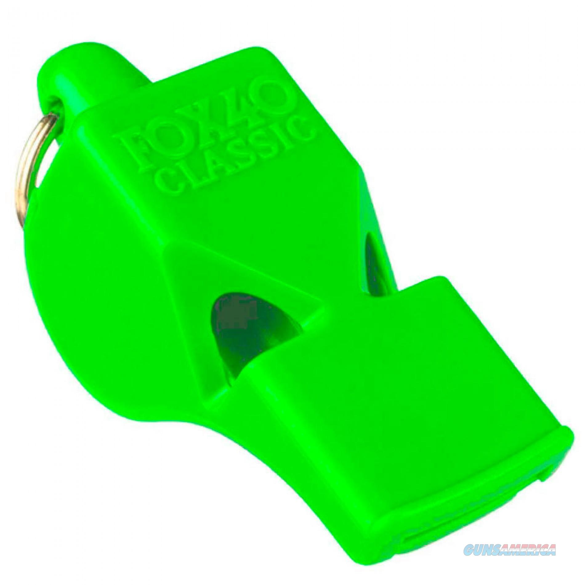 Fox 40 Classic Safety Whistle Neon Green  Non-Guns > Miscellaneous