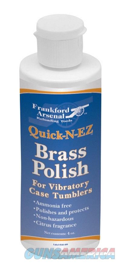Frankford Arsenal Quick-n-Ez Brass Polish 4 Oz  Non-Guns > Reloading > Components > Other