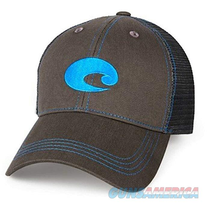 Costa Neon Trucker Hat Graphite Blue OSFA  Non-Guns > Hunting Clothing and Equipment > Clothing > Hats