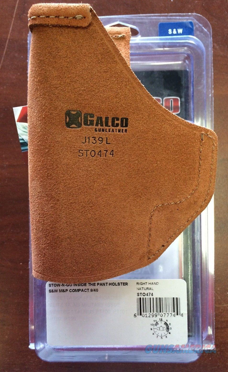 Galco Stow-N-Go Holster Smith & Wesson M&P Compact  Non-Guns > Holsters and Gunleather > Concealed Carry