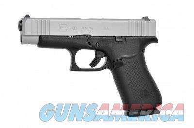 """Glock 48 Silver 9 MM 4.17"""" BBL 10+1 PA485SL201 9MM  Guns > Pistols > Glock Pistols > 43/43X"""