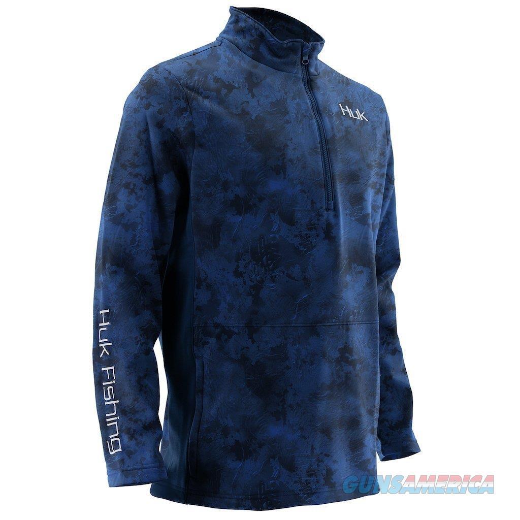 Huk Tidewater 1/4 Zip Current XXL  Non-Guns > Hunting Clothing and Equipment > Clothing > Shirts