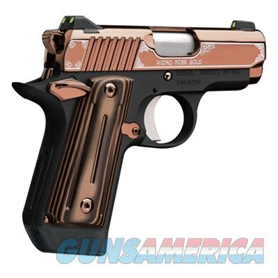 Kimber Micro 9 Rose Gold 3300174 NIB 9 MM NS 9MM  Guns > Pistols > Kimber of America Pistols > Micro 9
