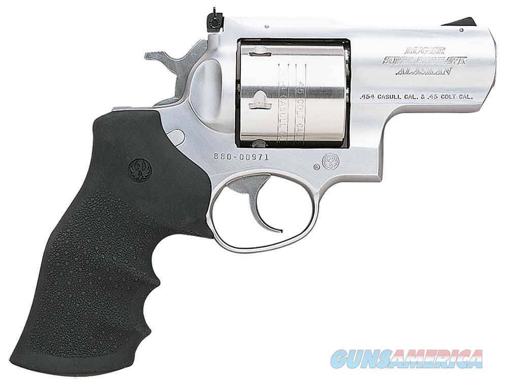 Ruger Super Redhawk Alaskan 454 Casull 5301 NIB SS  Guns > Pistols > Ruger Double Action Revolver > Redhawk Type
