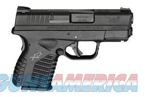 "Springfield XDS 45 ACP 3.3"" XDS93345BB NIB 45ACP  Guns > Pistols > Springfield Armory Pistols > XD-S"