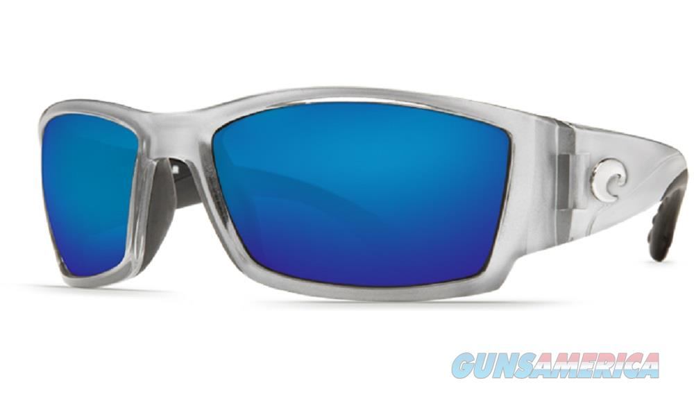 Costa Del Mar Corbina Sunglasses Silver & Blue 580  Non-Guns > Miscellaneous