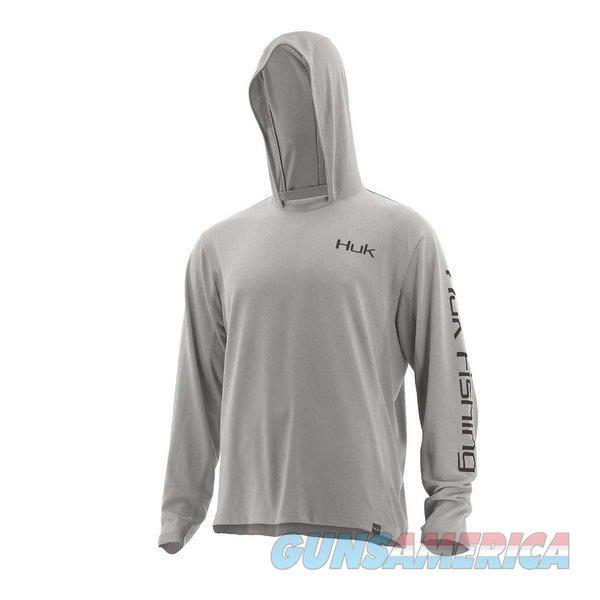 Huk Icon Hoodie Grey XL  Non-Guns > Hunting Clothing and Equipment > Clothing > Shirts