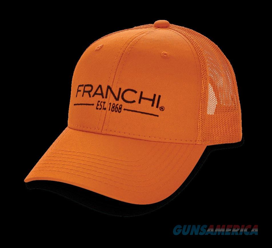 Franchi Logo Trucker Hat Blaze Orange NEW  Non-Guns > Hunting Clothing and Equipment > Clothing > Hats