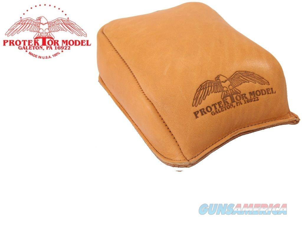 Protektor Model 12 Leather Rear Shooting Rest Bag  Non-Guns > Miscellaneous