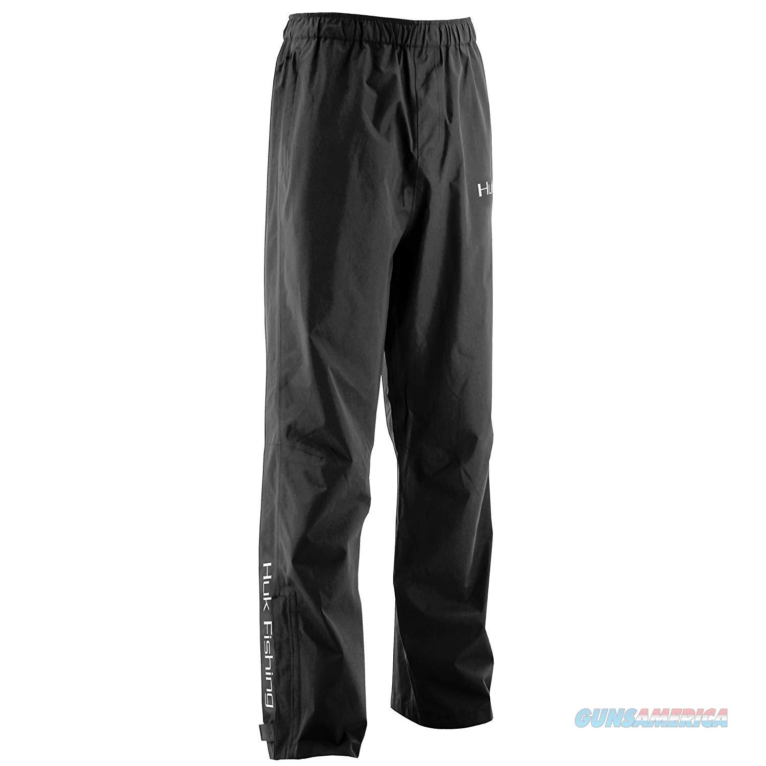 Huk Camo Packable Pants Black MD  Non-Guns > Hunting Clothing and Equipment > Clothing > Pants