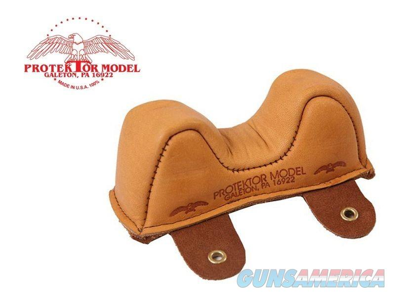 Protektor #1 Leather Front Owl Shooting Rest Bag  Non-Guns > Miscellaneous