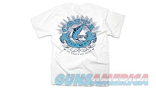 Costa Classic Short Sleeve T-Shirt White LG  Non-Guns > Paintball > Clothing