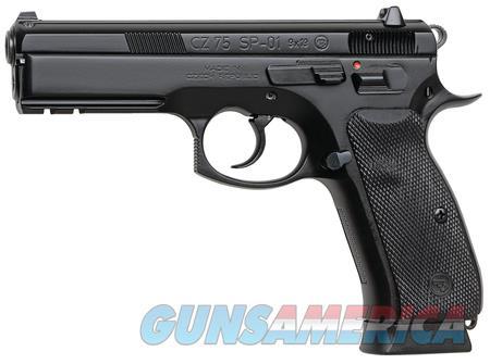"CZ 75 SP-01 9 MM 91152 NIB 9MM 4.7"" Barrel Black  Guns > Pistols > CZ Pistols"