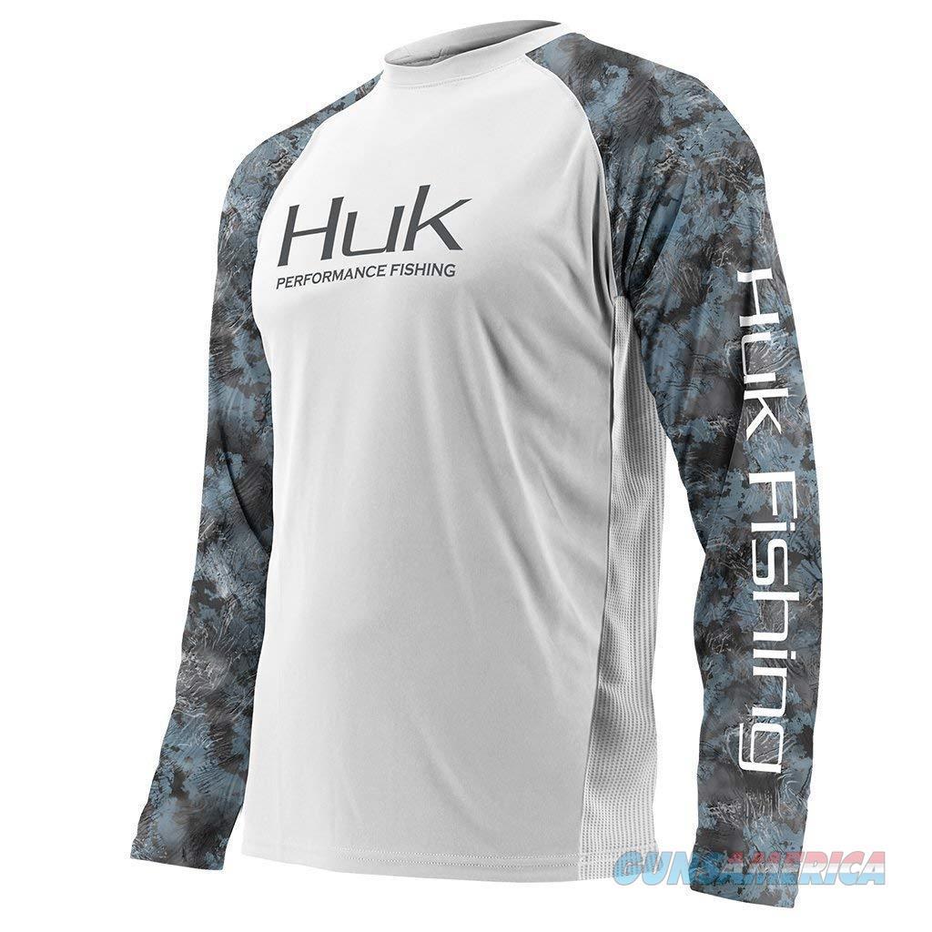 Huk Double Header Shirt White XL  Non-Guns > Hunting Clothing and Equipment > Clothing > Shirts