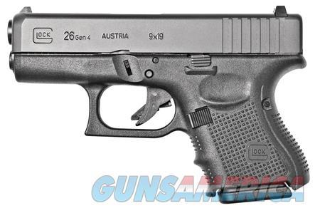 """Glock 26 Gen 4 PG2650201 NIB 9MM 9 mm 3.42"""" Barrel  Guns > Pistols > Glock Pistols > 26/27"""