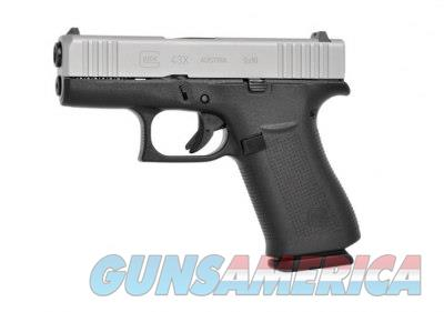 """Glock 43X 9 MM PX435SL201 10+1 TT 9MM NIB 3.41""""BBL  Guns > Pistols > Glock Pistols > 43/43X"""