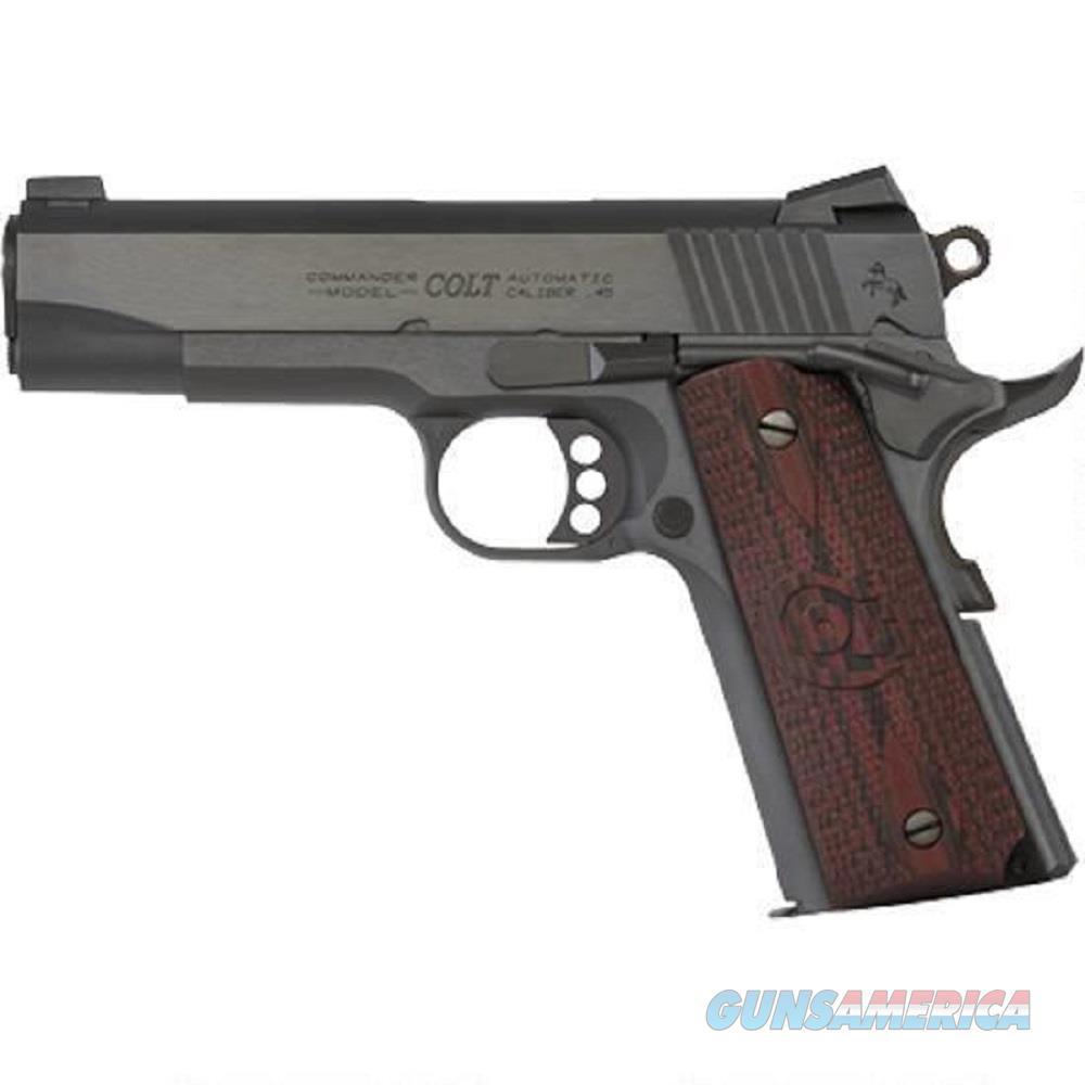 "Colt Combat Commander 1911 45 ACP 4.25"" 8 Rd Blued  Guns > Pistols > Colt Automatic Pistols (1911 & Var)"