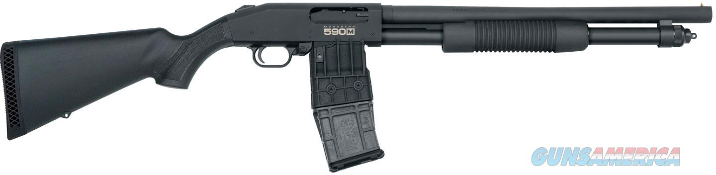 "Mossberg 590 Tactical 12 Ga 18.5""BBL 50205 NIB BLK  Guns > Shotguns > Mossberg Shotguns > Pump > Tactical"