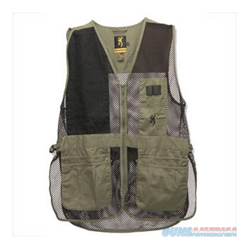Browning Trapper Creek Shooting Vest Large Sage  Non-Guns > Shotgun Sports > Vests/Jackets