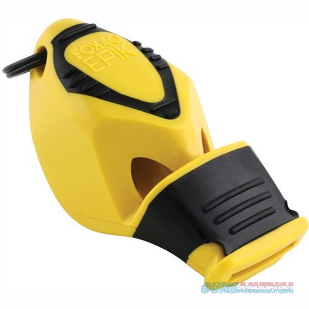 Fox 40 Epik CMG Safety Whistle Yellow  Non-Guns > Miscellaneous