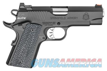 "Springfield RO Elite Compact 45 ACP PI9126E NIB 4""  Guns > Pistols > Springfield Armory Pistols > 1911 Type"
