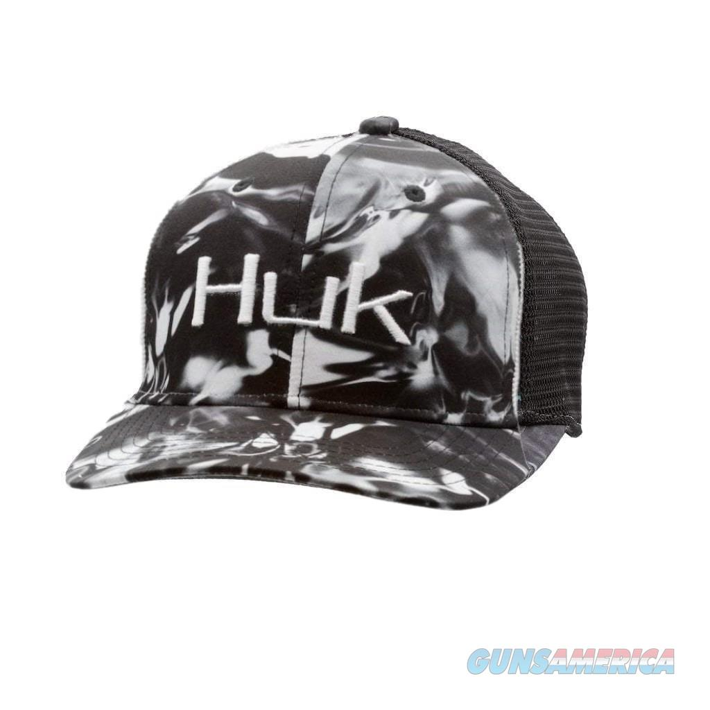 Huk Camo Trucker Stretch Hat Blackwater  Non-Guns > Hunting Clothing and Equipment > Clothing > Shirts