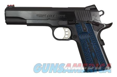 Colt 70 Competition 1911 NIB 45 Acp O1970CCS Blued  Guns > Pistols > Colt Automatic Pistols (1911 & Var)