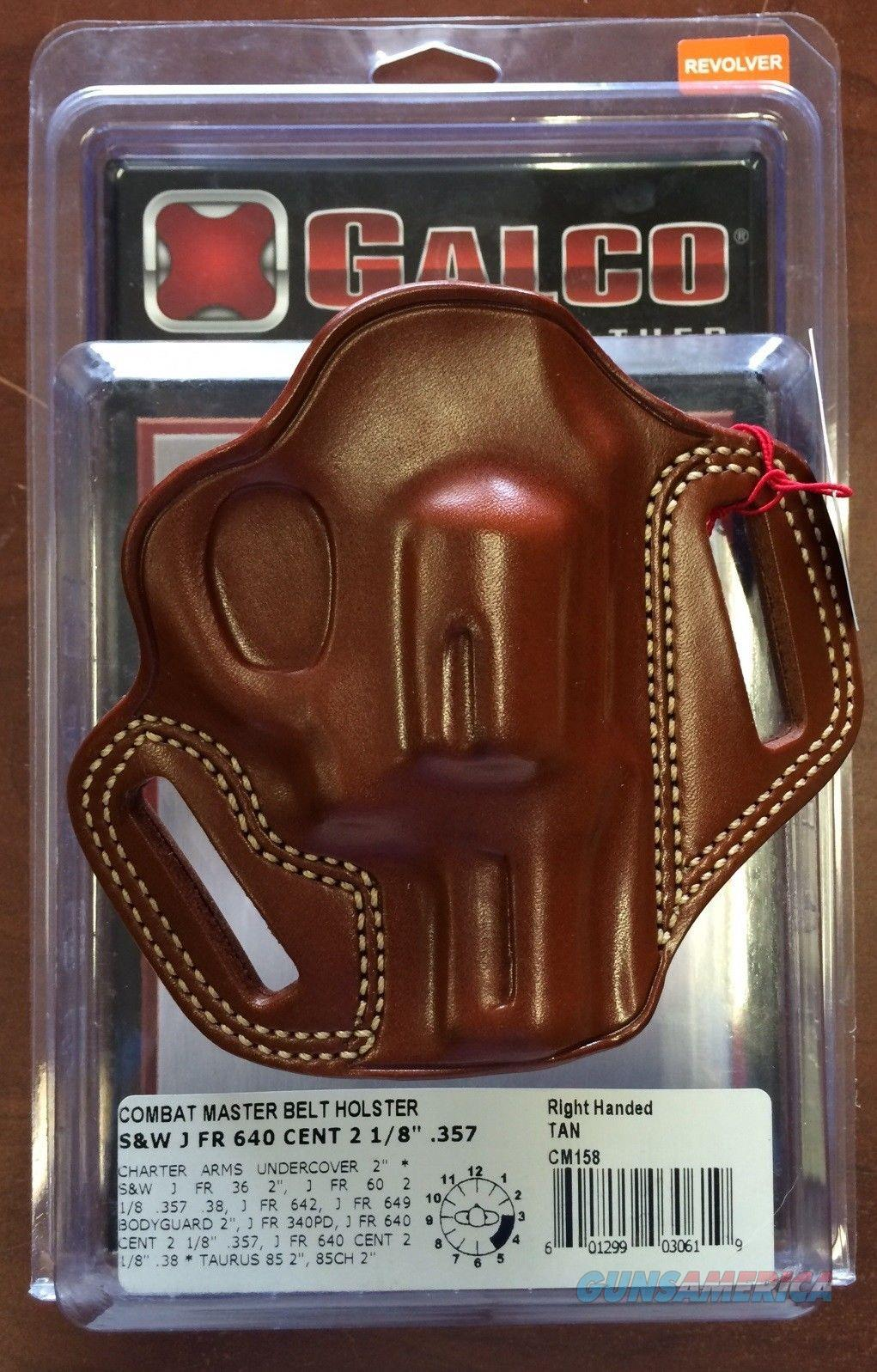Galco Combat Master Belt Holster  Charter Arms Undercover 2 Inch and Others  Non-Guns > Holsters and Gunleather > Concealed Carry