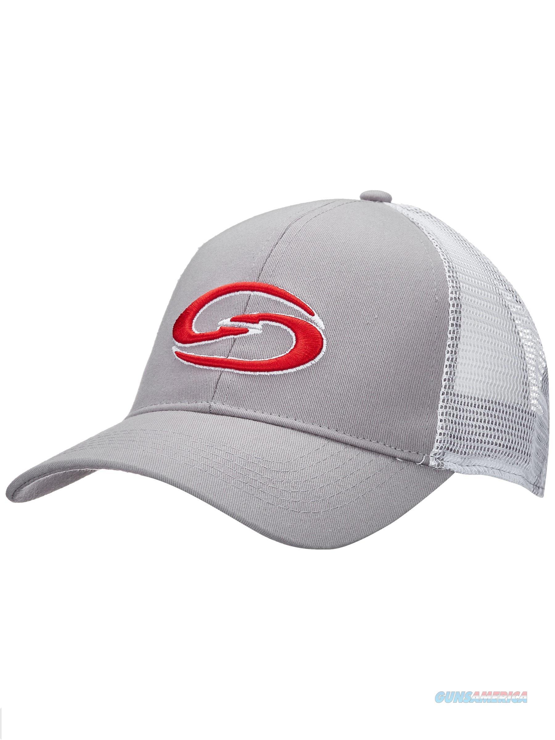 Strike King Trucker Cap Gray White  Non-Guns > Hunting Clothing and Equipment > Clothing > Hats