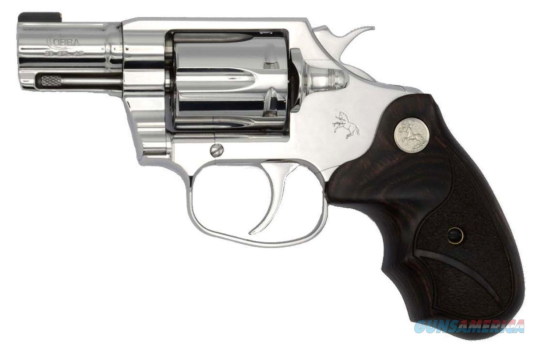 "Colt Cobra Bright 38 SPL 2"" BBL COBRA-SS2BB NIB  Guns > Pistols > Colt Double Action Revolvers- Modern"