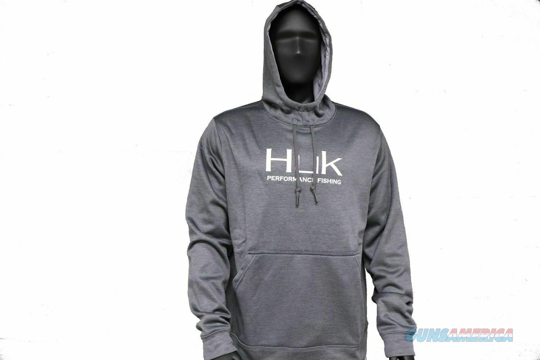 Huk Fleece Hull Hoodie Iron XXL NEW  Non-Guns > Hunting Clothing and Equipment > Clothing > Shirts