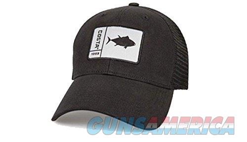 Costa Marlin Tuna Patch Hat Black NEW  Non-Guns > Hunting Clothing and Equipment > Clothing > Hats